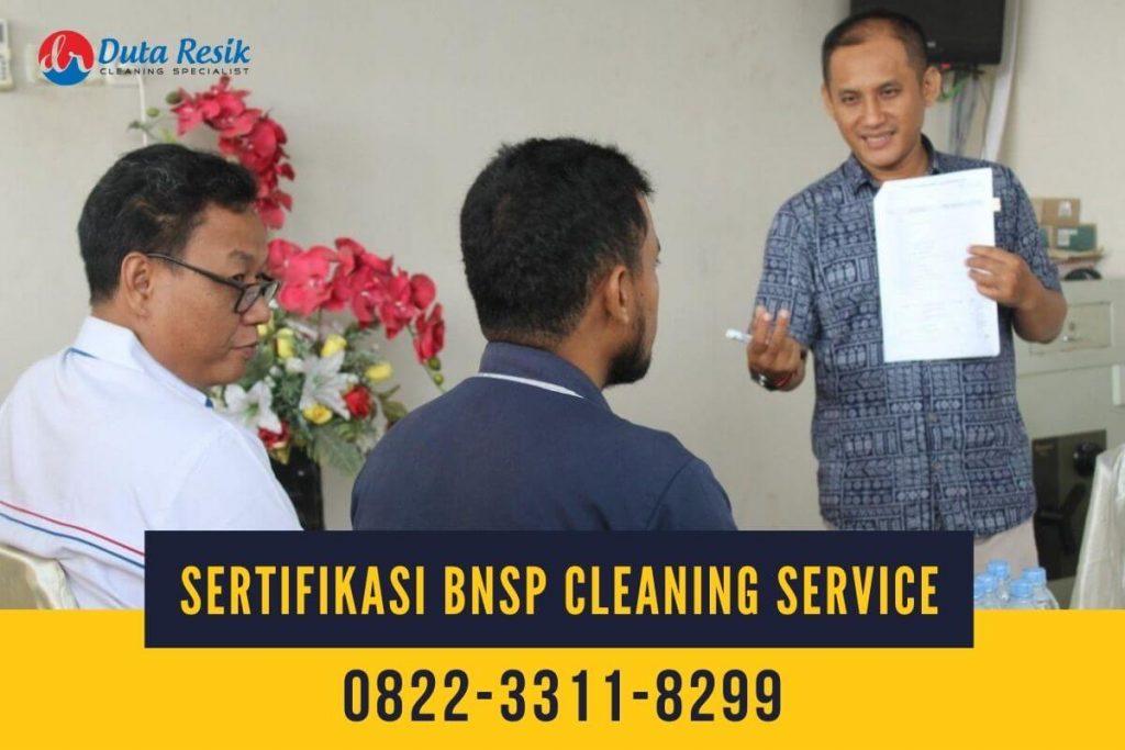 Pelatihan dan Sertifikasi BNSP Cleaning Service