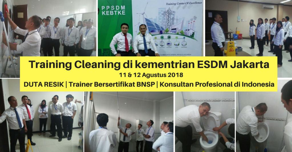 training-cleaning-di-kementrian-esdm-jakarta