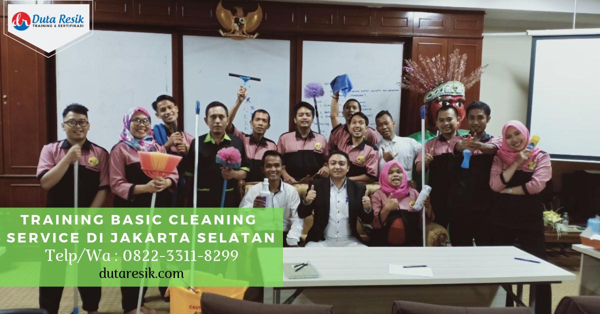 Training Basic Cleaning Service di Jakarta Selatan