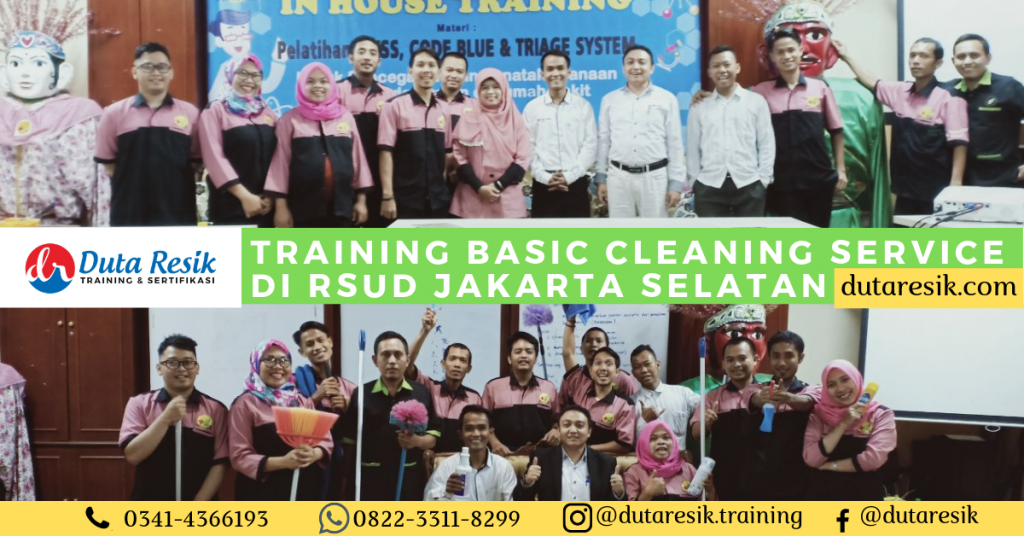 Training Basic Cleaning Service di RSUD Jakarta Selatan