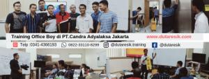 Training Cleaning Service di PT.Adyalaksana Jakarta