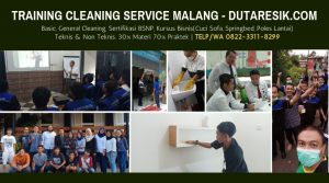 TRAINING CLEANING SERVICE MALANG