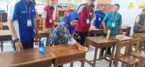 training cleaning service sekolah