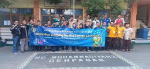 training cleaning service sd muhammadiyah 2 denpasar