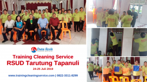 Training Cleaning Service RSUD Tarutung Tapanuli