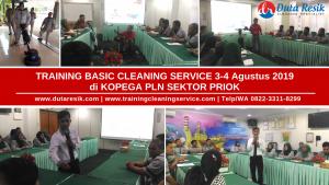 Training Cleaning Service Kopega PLN Sektor Priok