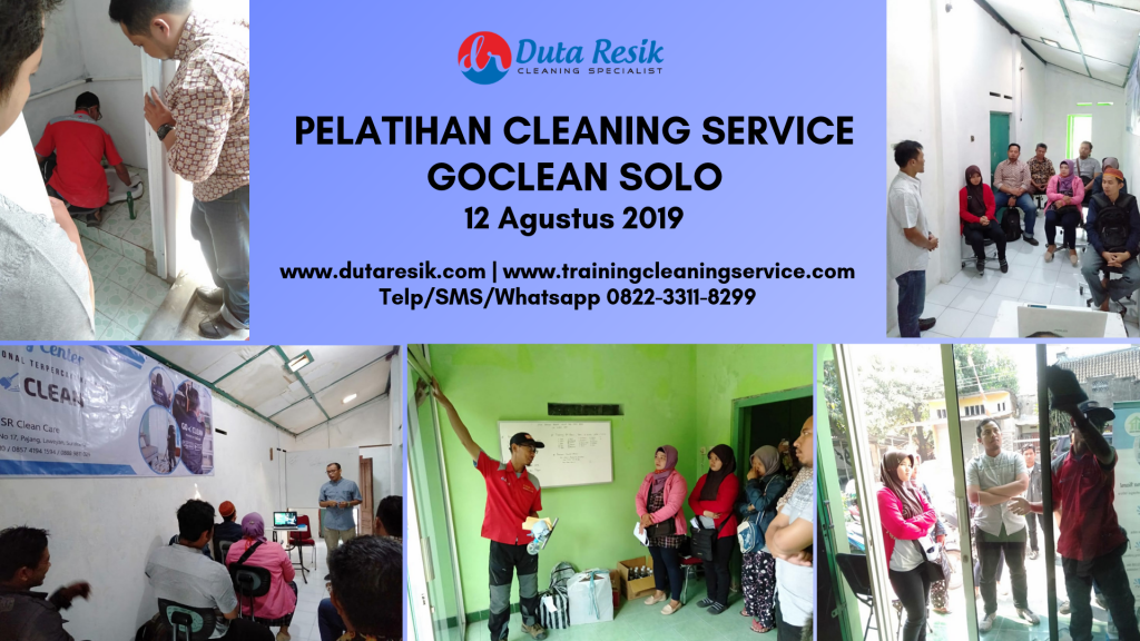 Training Cleaning Service Talent Goclean Solo