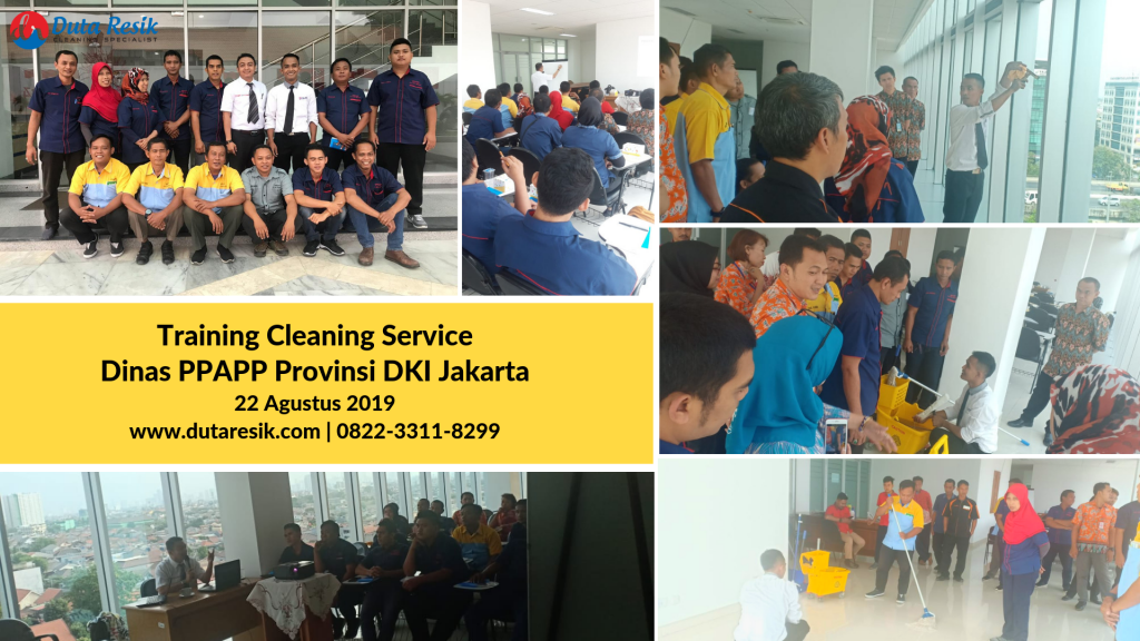 Training Cleaning Service Dinas PPAPP DKI Jakarta