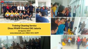 Training Cleaning Service Dinas PPAPP DKI Jakarta