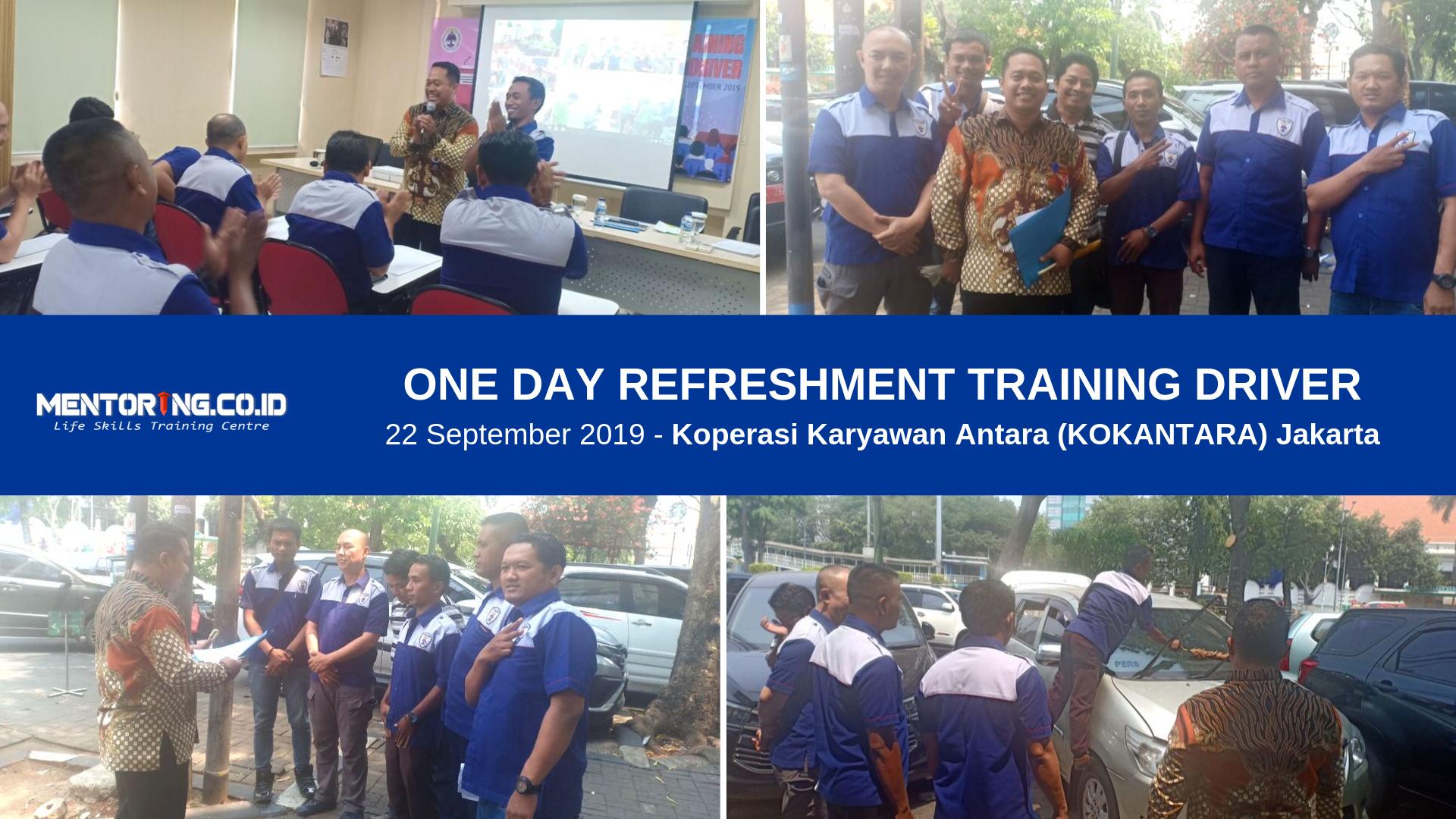 Refreshment Training Driver Kokantara Jakarta