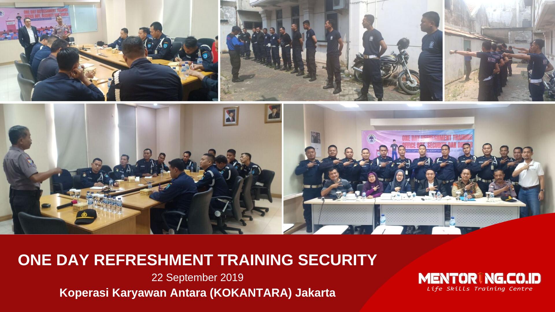 Refreshment Training Security Kokantara Jakarta