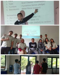 Training & Sertifikasi BNSP Kliner Junior PT. Harum Tamiraya Manado
