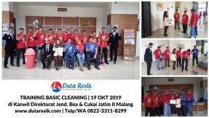 Training Basic Cleaning Service Bea Cukai