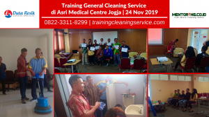Training General Cleaning Service di AMC Yogyakarta by Dutaresik.com
