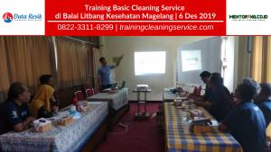 Training Basic Cleaning Service Balai Litbang Magelang