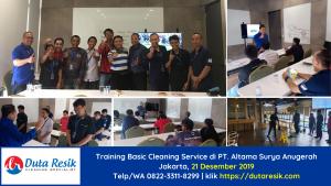 Pelatihan Petugas Kebersihan Jakarta