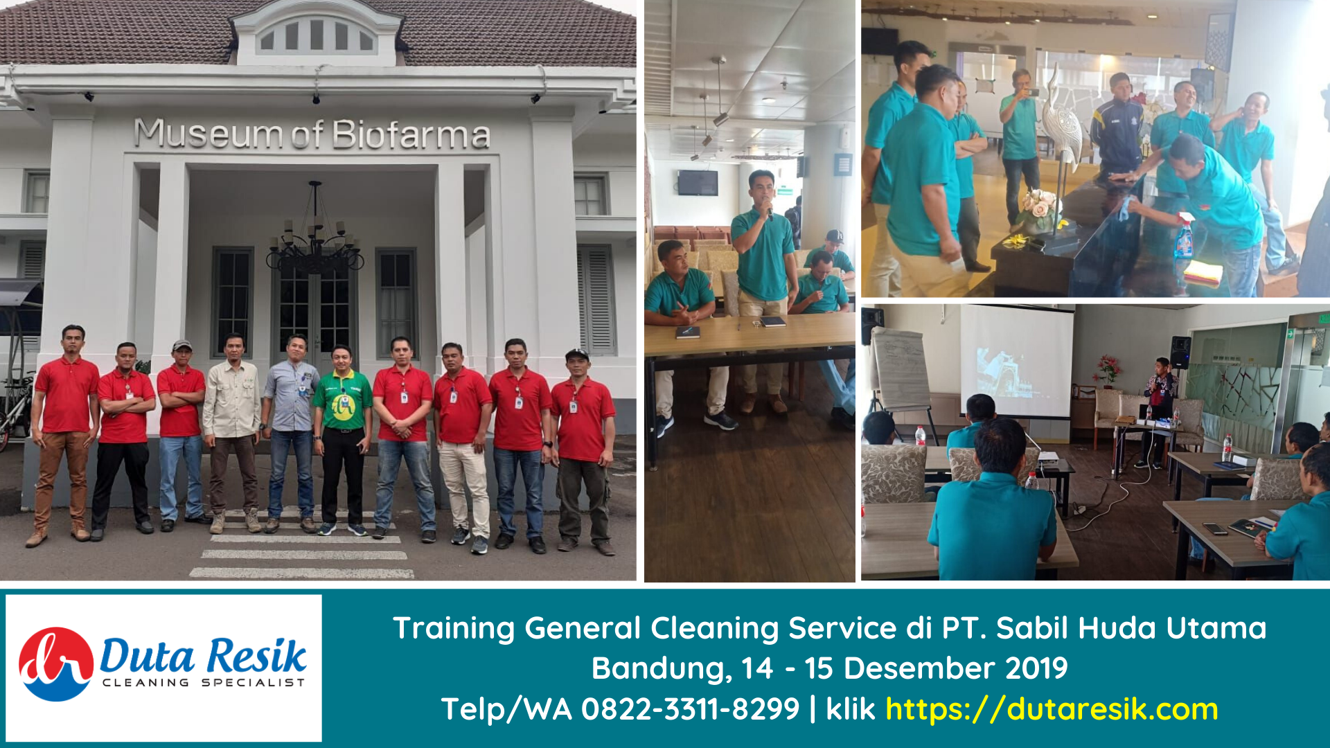 Training General Cleaning Service PT Sabil Huda Utama Bandung