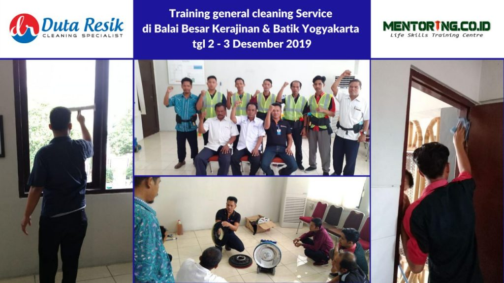 Training General Cleaning Service di BBKB Jogja