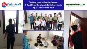 Training General Cleaning Service di BBKB Jogja