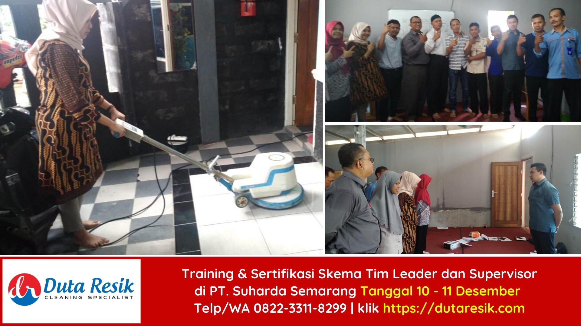 Training & Sertifikasi BNSP Tim Leader dan Supervisor di PT Suharda Semarang