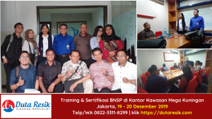 Pelatihan & Sertifikasi BNSP Cleaning Service Periode Desember