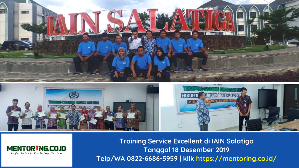 Training Service Excellent di IAIN Salatiga