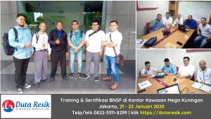 Training & Sertifikasi BNSP di Kantor Mega Kuningan