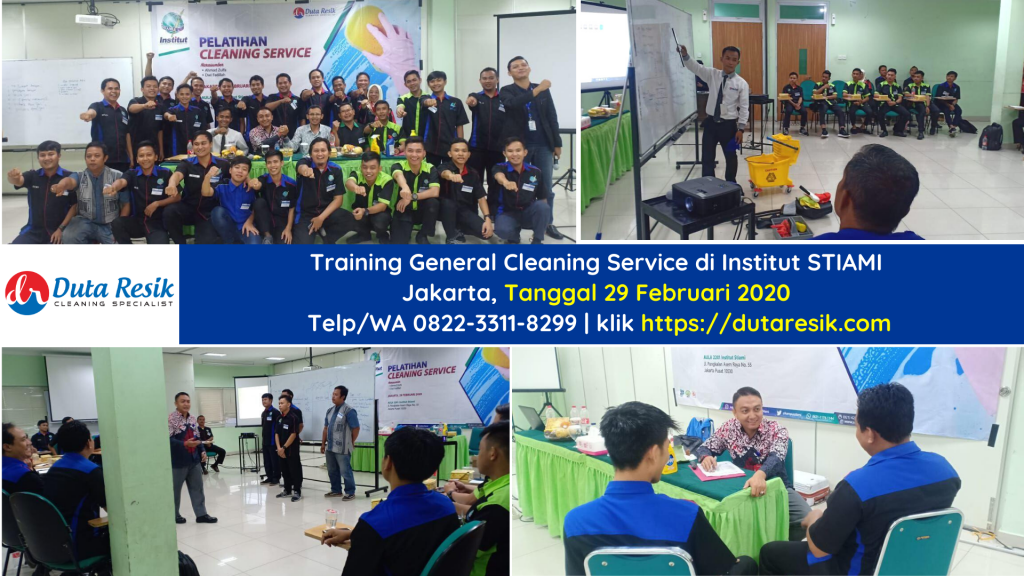 Training General Cleaning Service Institut STIAMI Jakarta
