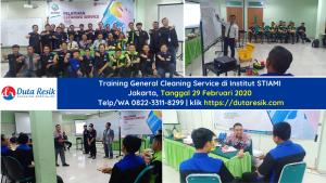 Training General Cleaning Service Institut STIAMI Jakarta