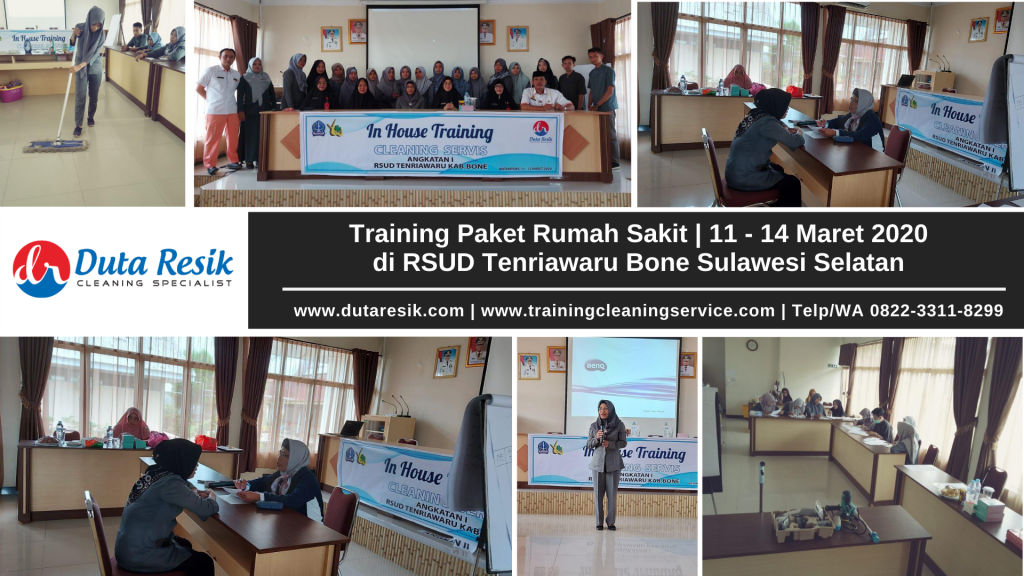 Training Paket Rumah Sakit di RSUD Tenriawaru Bone