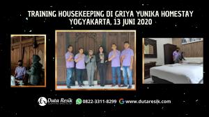 Training Housekeeping Griya Yunika Homestay