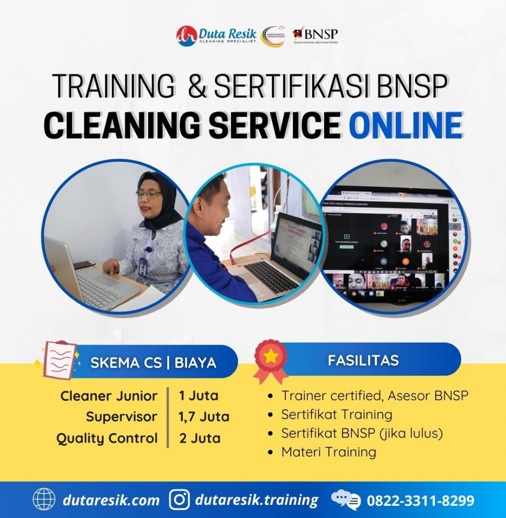 training-sertifikasi-bnsp-cleaning-service-online
