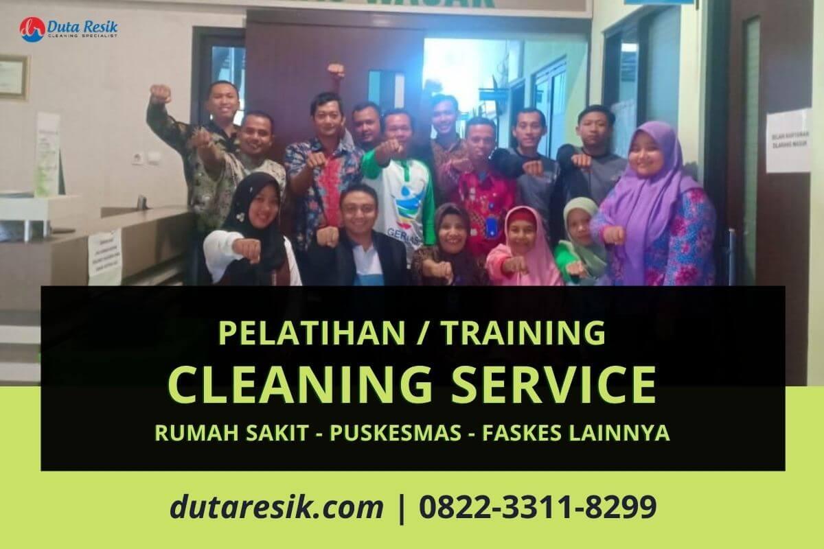 Pelatihan Cleaning Service Rumah Sakit Duta Resik