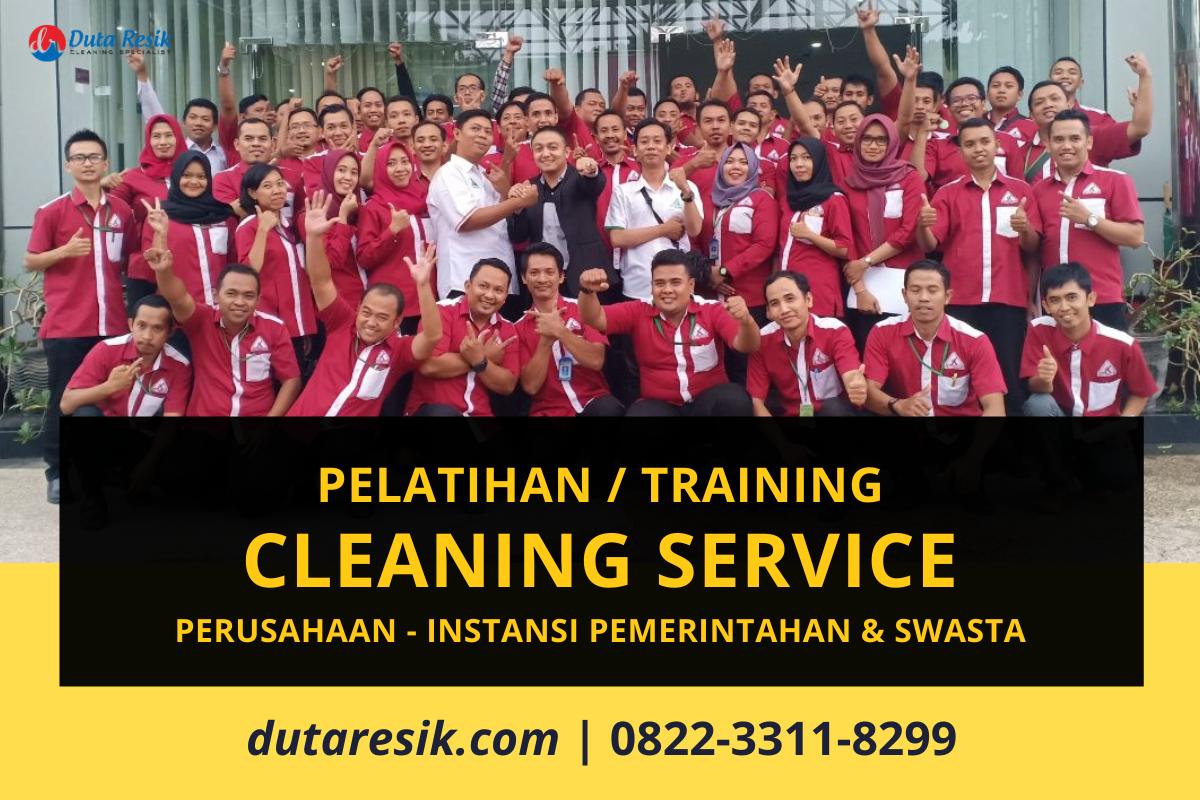Pelatihan Cleaning Service Perusahaan Instansi