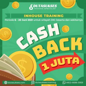 cashback 1 juta inhouse training